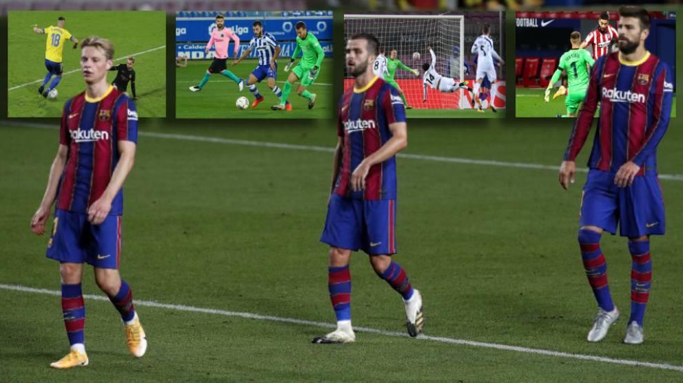 Los castigos del Barça: ¿cómo estarían si...?