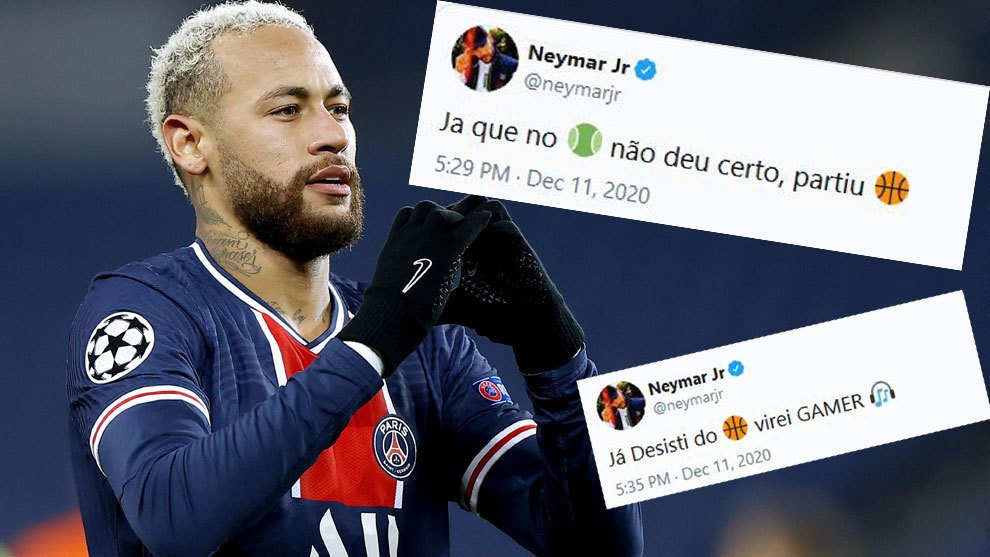 Neymar in tears of agony after suffering ankle injury during Lyon game