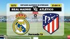 Real Madrid vs Atlético de Madrid, última hora del derbi madrileño...