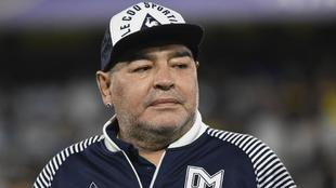 Diego Maradona en una imagen de archivo