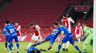 Edson Álvarez entró de cambio al medio tiempo en la victoria del...