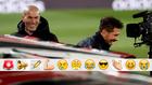 Simeone y Zidane