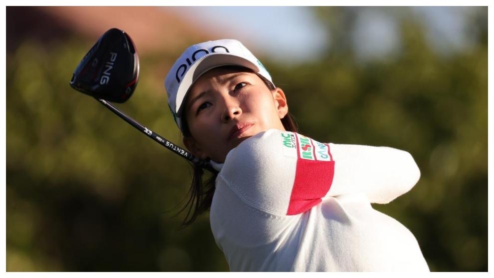 Shibuno, durante la tercera jornada del US Open.
