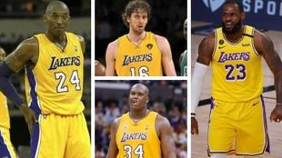 Los jugadores que más dinero ganaron en los Lakers: Pau Gasol, en el Top3