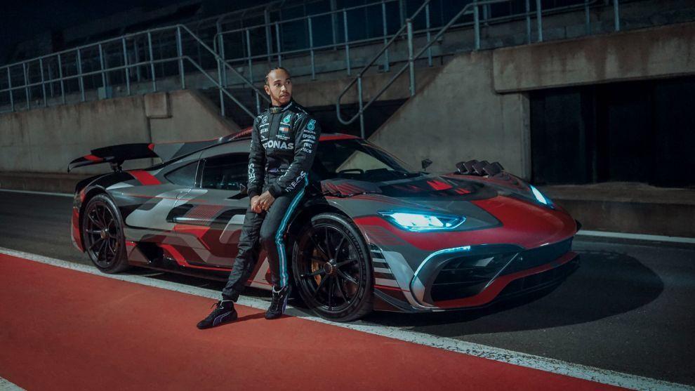 El after work de Lewis Hamilton: trabajar en el desarrollo del AMG Project One