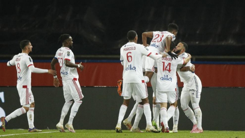 El Lyon se impone en el Parque de los Príncipes en el drama de Neymar