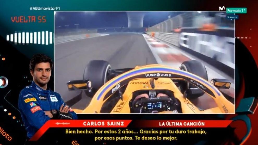 Carlos Sainz en lo mejor de las radios.