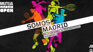 El cartel promocional de 'Somos Madrid'
