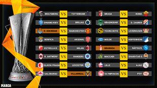 Sorteo de Europa League: rivales y cruces de Real Sociedad, Villarreal...
