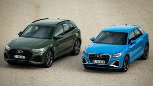 Los nuevos Audi Q5 y Q2.