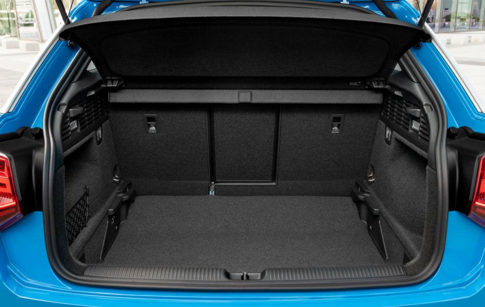 La capacidad del maletero del Audi Q2 es de 405 litros.