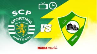 ¿Dónde ver la Copa de la Liga de Portugal? Sporting vs Mafra
