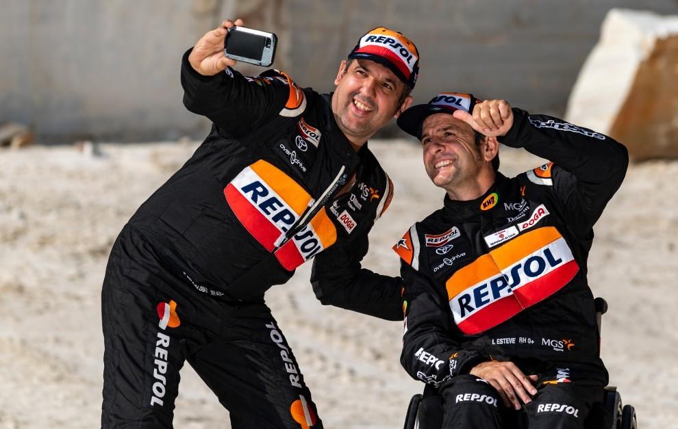 Isidre Esteve y Txema Villalobos disputarán su quinto Dakar juntos.