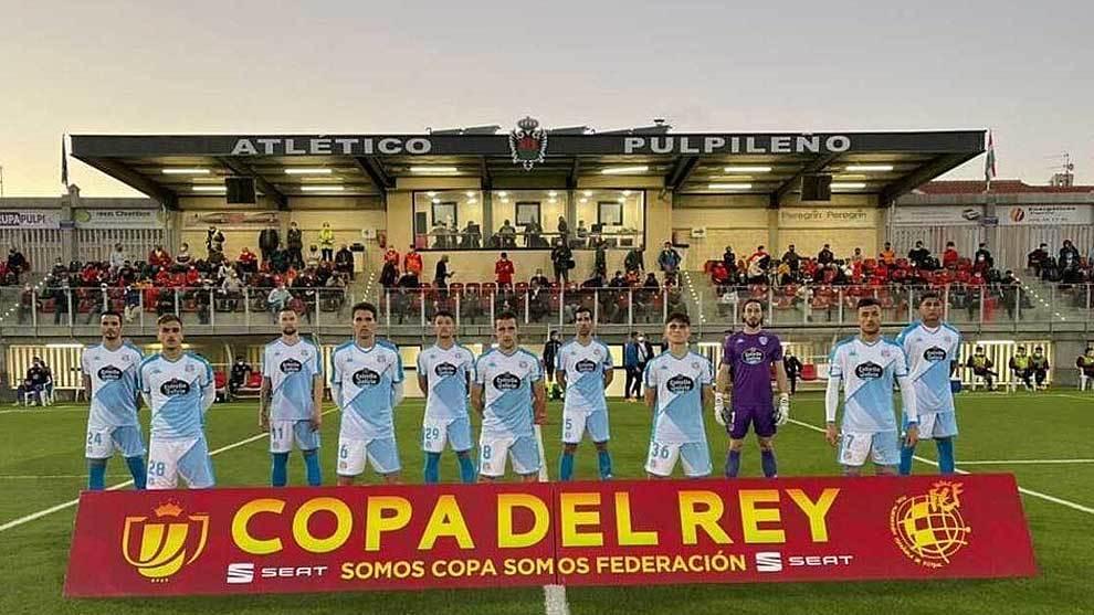 Con este once titular jugó el Lugo en el San Miguel ante 400...