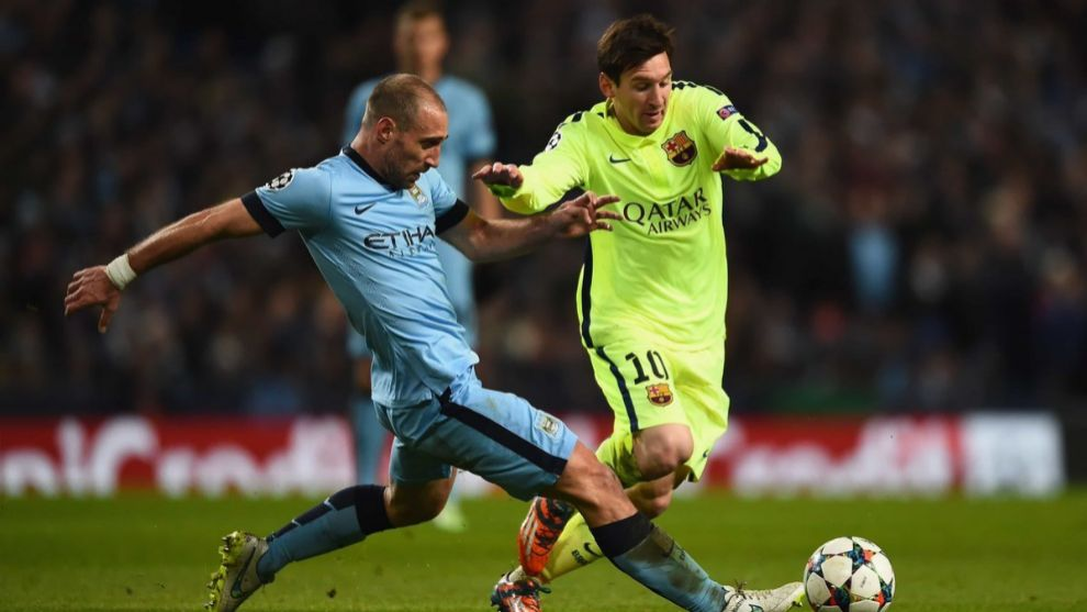 Zabaleta: It's sad to see Messi in this situation