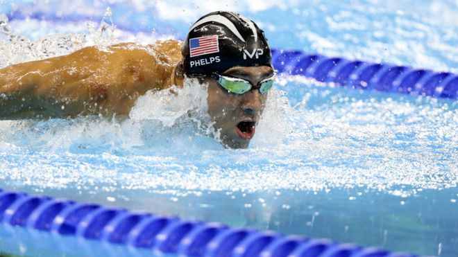 Phelps: I don't know if I ever competed with clean opponents