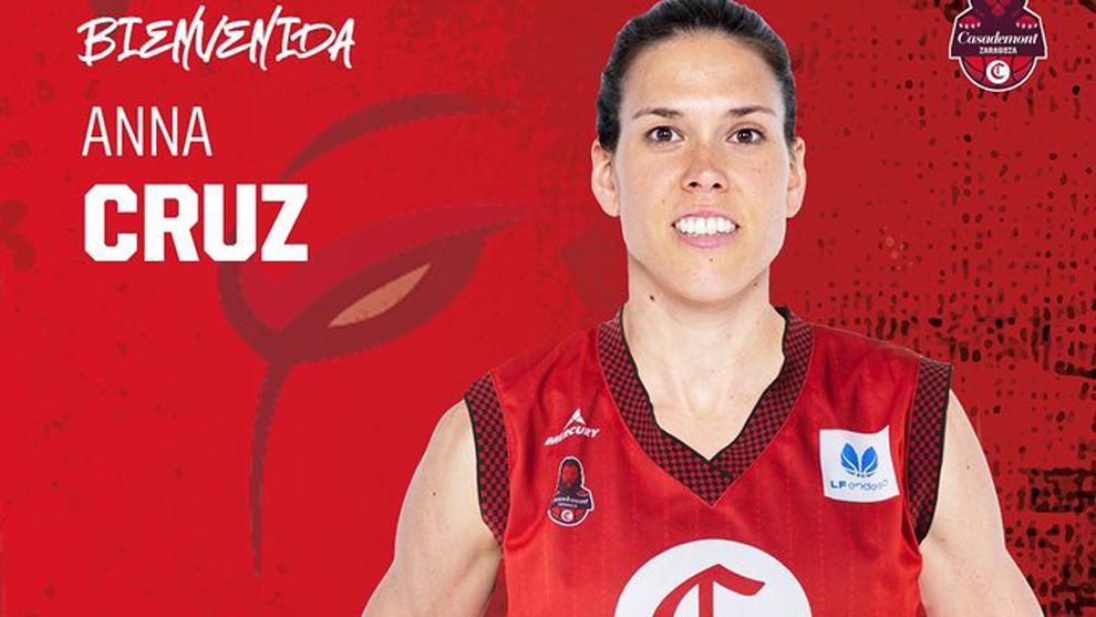 La internacional española Anna Cruz se une al Casademont Zaragoza