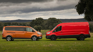 Ford Tourneo Active Connect y Transit Trail.