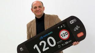Manuel Santiago, presidente de Hello Auto.