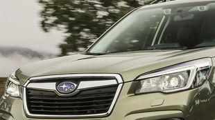 El Subaru Evoltis será un SUV mediano y tendrá un tamaño similar al...