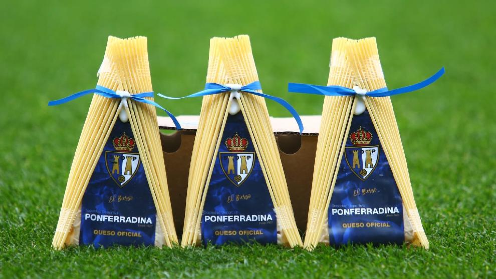 El equipo de El Bierzo presentó el queso oficial del club