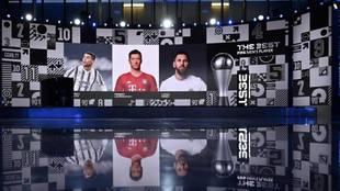 La gala de los Premios The Best de la FIFA, en directo