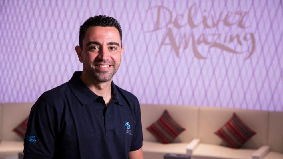 Xavi, embajador del programa solidario 'Generation Amazing'.