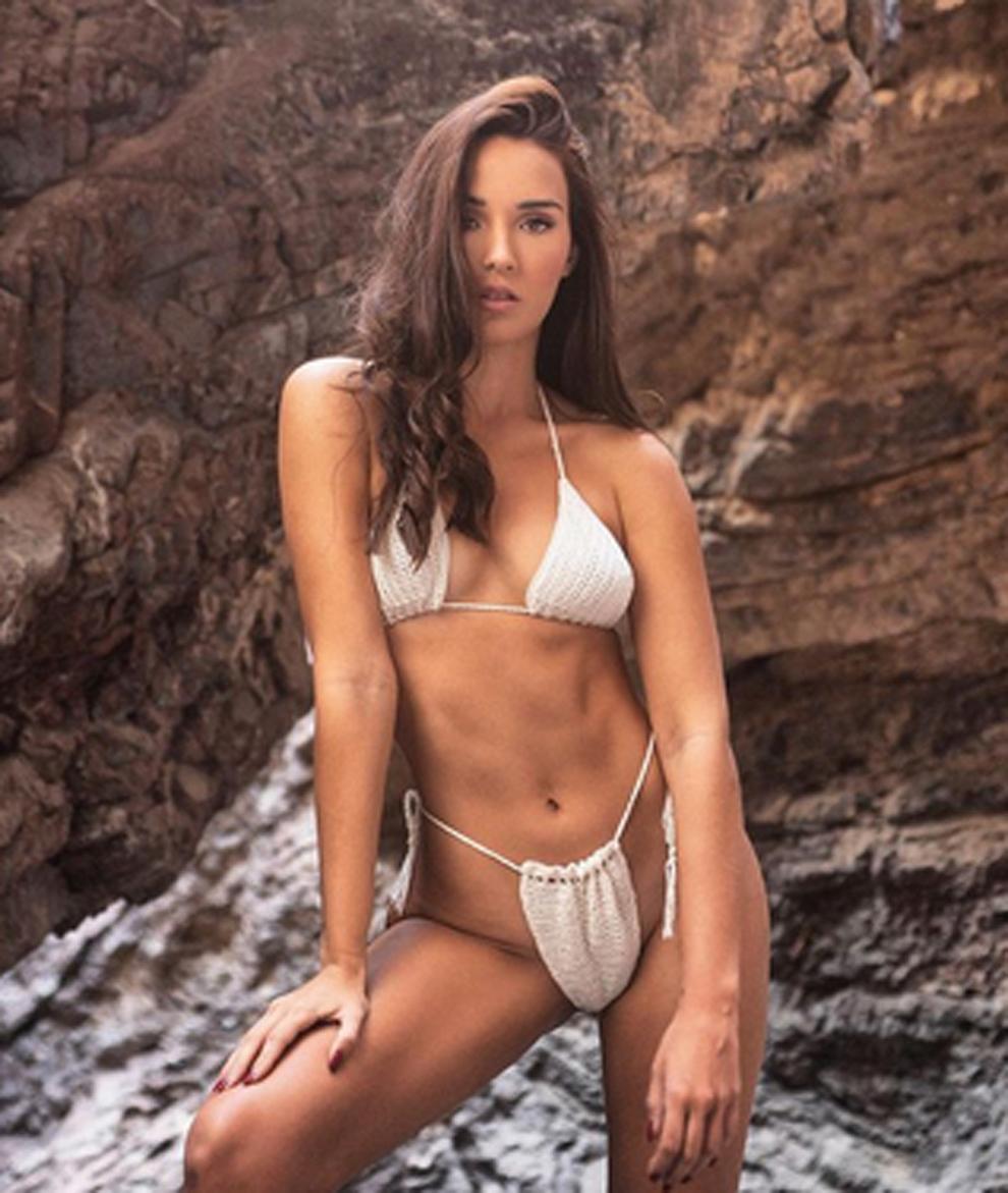 Andrea D'lVal, la instagramer a la que manoseó Nikita Mazepin en un...