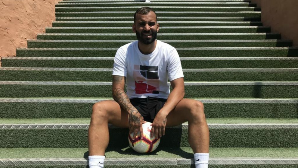 Jese poses for MARCA