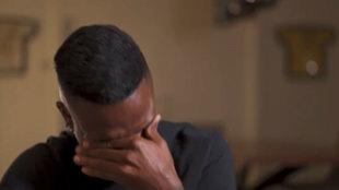 El doloroso recuerdo que hace llorar a Vinícius... que pide parar la grabación de su documental