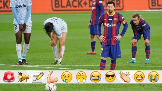 Pero cómo no se va querer ir Messi con este equipo...