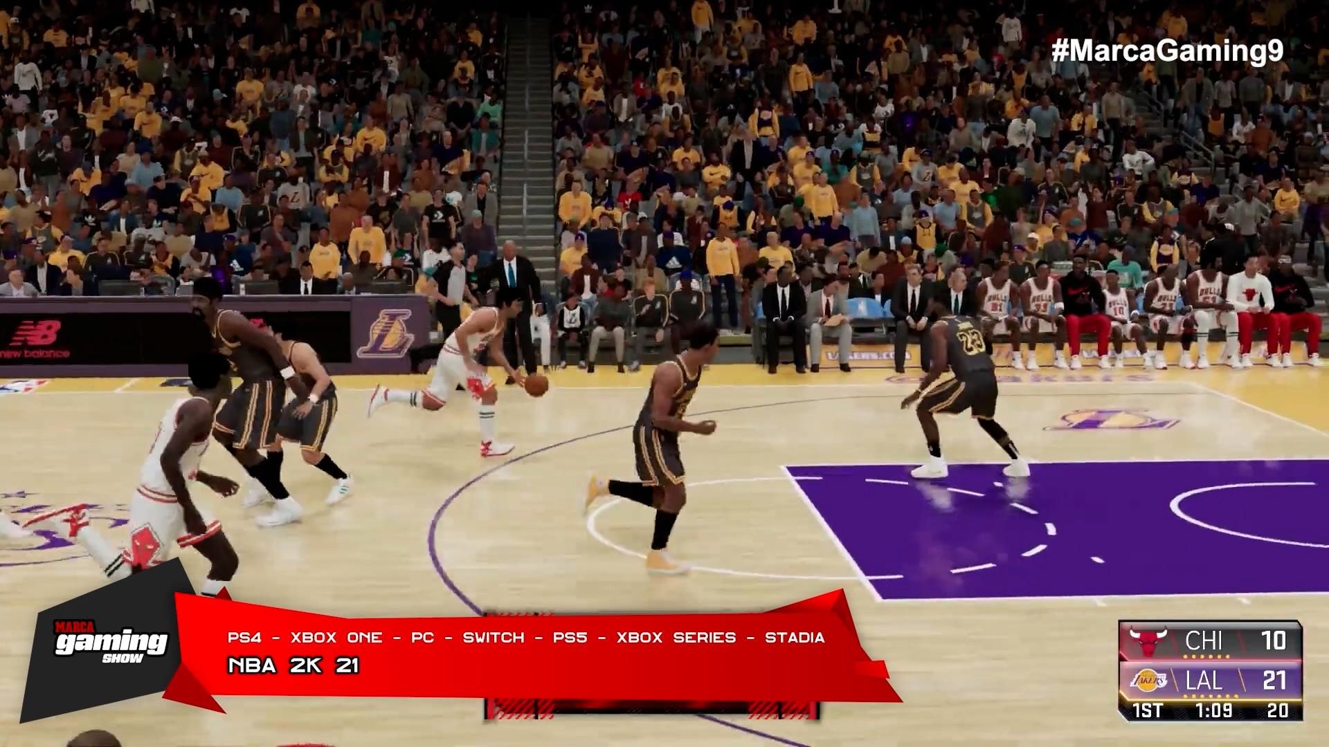 NBA 2K 21 (PS4 - XBOX ONE - PC - SWITCH - PS5 - XBOX SERIES - STADIA)