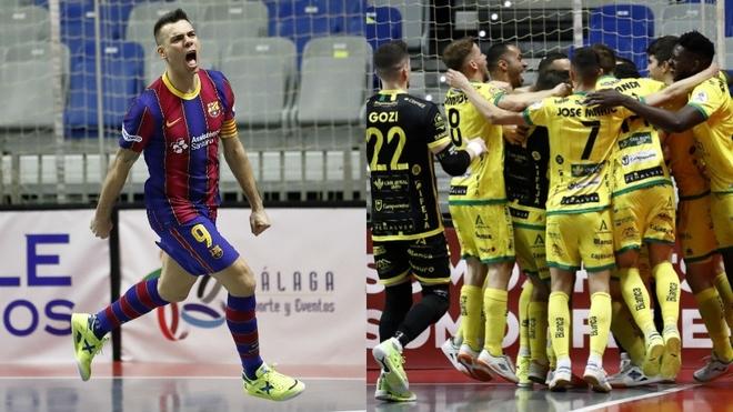 Jaén Paraíso Interior y Barça se abonan a las finales de Copa del Rey
