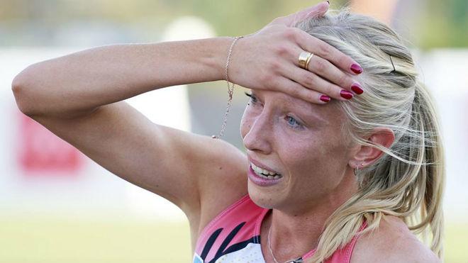 La atleta Zoya Naumov.