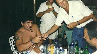 Diego Armando Maradona había intentado suicidarse en Cuba. |