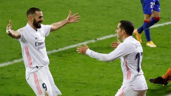 Eibar Vs Real Madrid: Uno a uno del Real Madrid VS Eibar: justo premio al  trabajo impagable de Lucas Vázquez | Marca.com