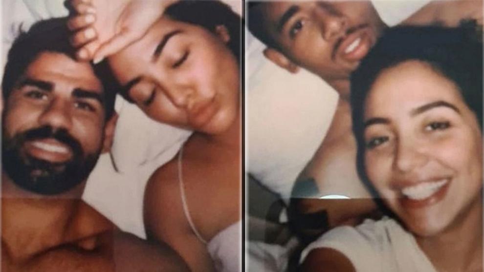 Fotos de Diego Costa (Atlético de Madrid) y Gabriel Jesús (Manchester City) con la misma mujer que han encontrado en una biblia