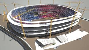 Una propuesta que pocos esperaban: Benedito quiere tirar el Camp Nou y jugar en Montjuïc tres años