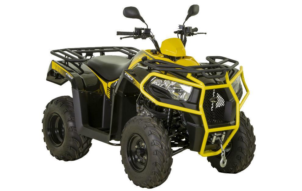 Así será el Kymco MXU 300, el modelo más pequeño de la gama ATV Kymco.
