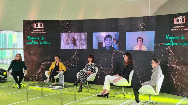 Sandra Myers, María Vasco, Ruth Beitia y Mercedes Chilla, y de forma...