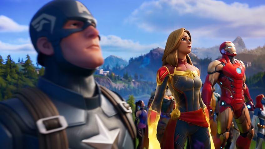La Capitana Marvel llega por todo lo alto a la isla de Fortnite.