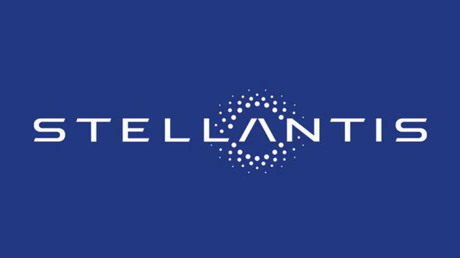 El logo de Stellantis, la fusión de PSA y FCA.