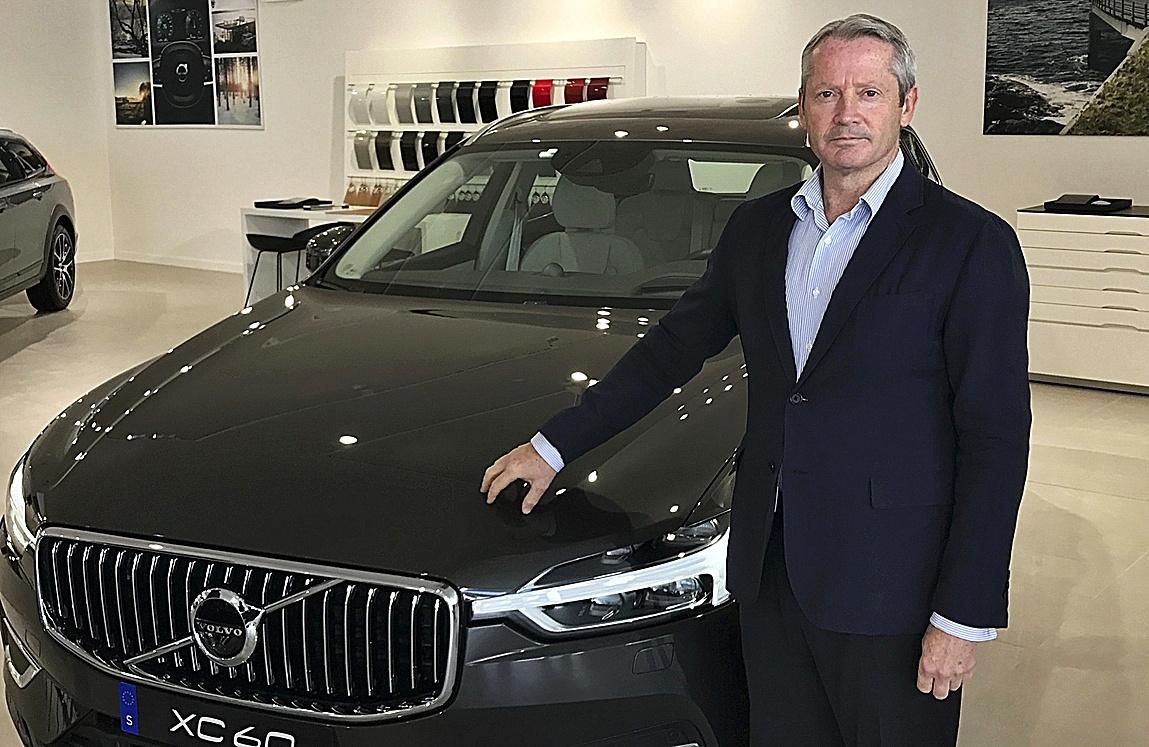 José María Galofré, consejero delegado de Volvo Car España.