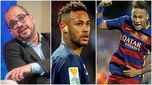 """""""Neymar es baratísimo. Con el 'transfer request', saldría entre 45 y 55 millones"""""""