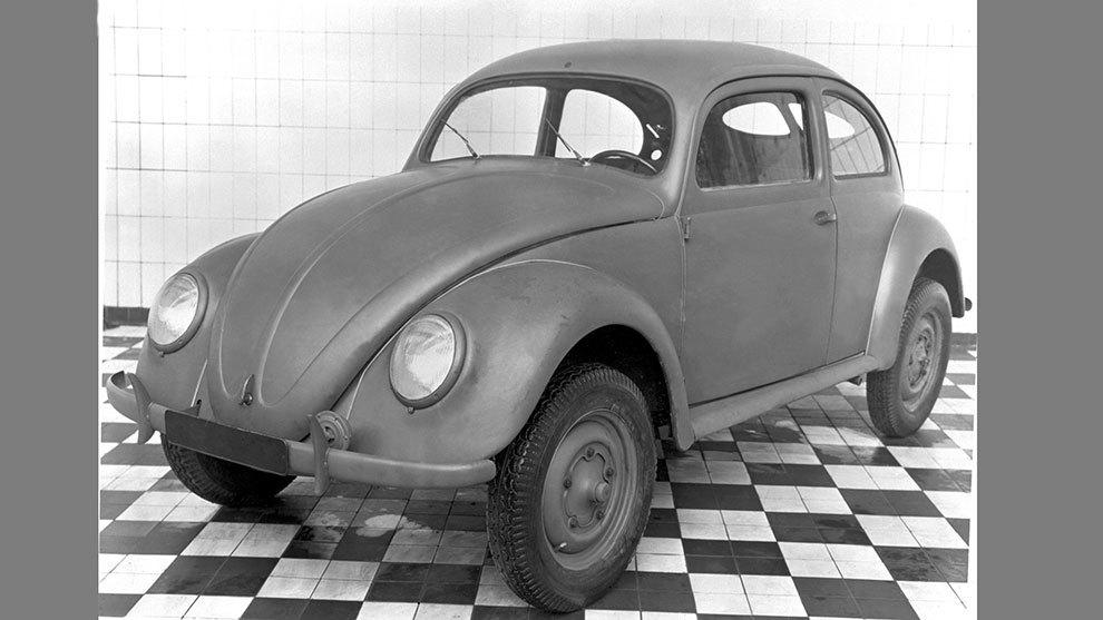 El modelo original tenía aspecto de vehículo militar.