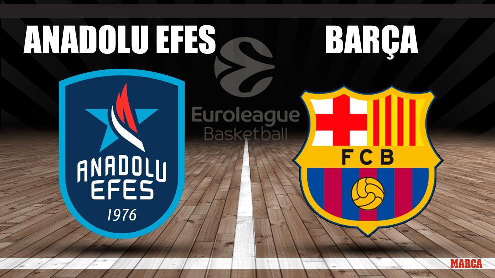Efes - Barcelona, en directo