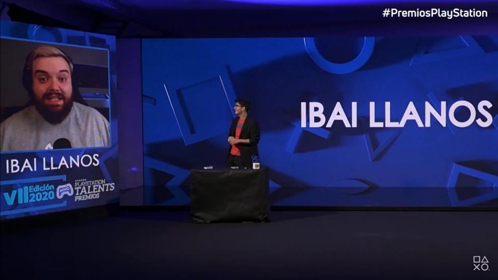 Ibai Llanos y Jorge Luengo en la gala de los Premios PlayStation 2020