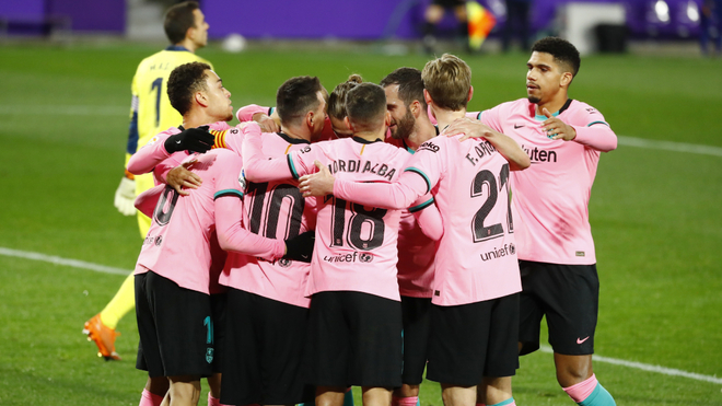 Lionel Messi rompe récord de Pelé en triunfo de Barcelona sobre Valladolid, la Pulga llegó a 644 tantos con los Blaugranas
