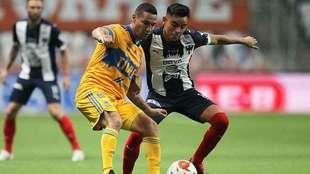 Tigres y Rayados demuestran que la rivalidad se queda en la cancha.