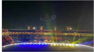 El cielo de Nuevo León se iluminó con el triunfo de Tigres.